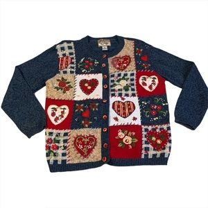 Heirloom Collectibles Ugly Valentines Day Sweater